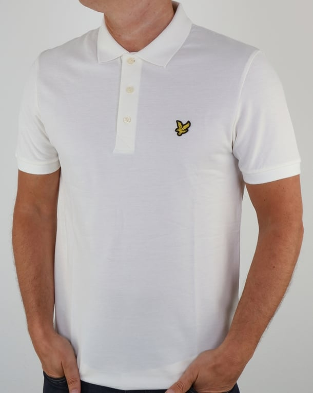 Lyle And Scott Polo Shirt Off White
