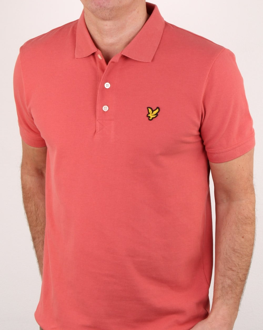 lyle and scott polo shirt pink. Black Bedroom Furniture Sets. Home Design Ideas