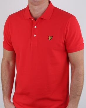 Lyle And Scott Polo Shirt Poppy
