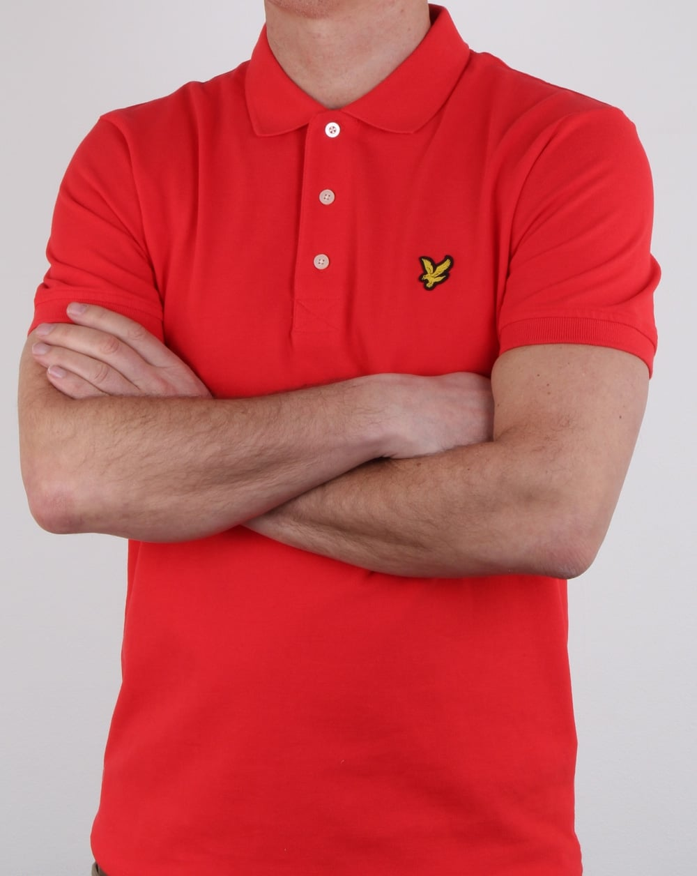 lyle and scott polo shirt poppy mens cotton polo. Black Bedroom Furniture Sets. Home Design Ideas