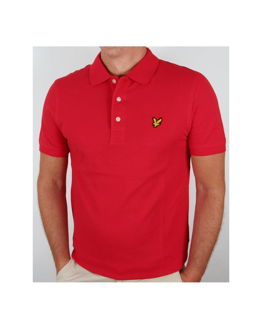 lyle and scott polo shirt s s red lyle scott polo shirt. Black Bedroom Furniture Sets. Home Design Ideas