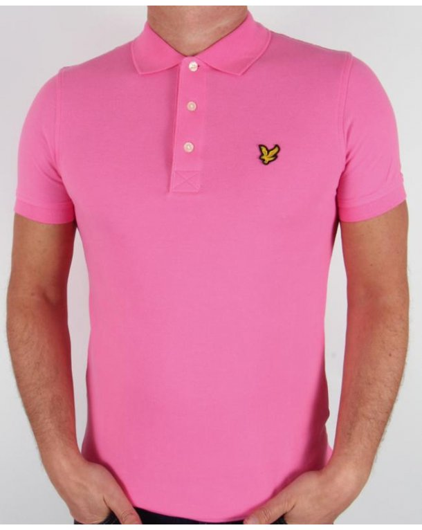 lyle and scott polo shirt s s hot pink lyle scott polo shirt. Black Bedroom Furniture Sets. Home Design Ideas