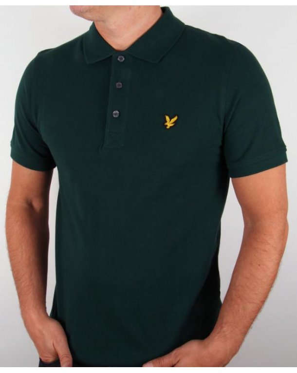 lyle and scott polo shirt s s scotts green lyle scott polo shirt. Black Bedroom Furniture Sets. Home Design Ideas
