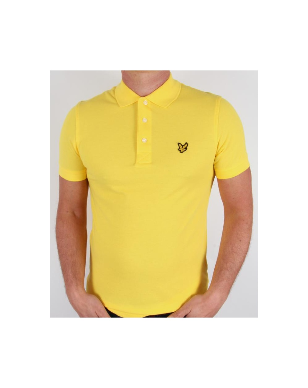 lyle and scott polo shirt s s yellow lyle scott polo shirt. Black Bedroom Furniture Sets. Home Design Ideas