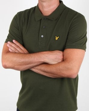 Lyle And Scott Polo Shirt Woodland Green