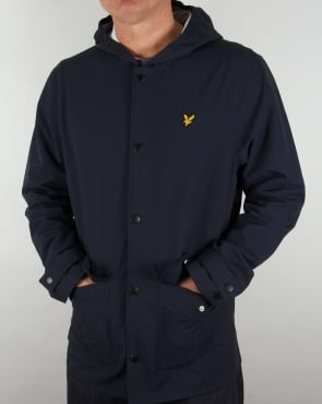 Lyle And Scott Raincoat Navy