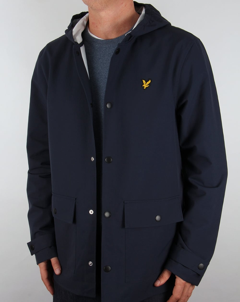 lyle and scott raincoat navy jacket mens green coat. Black Bedroom Furniture Sets. Home Design Ideas