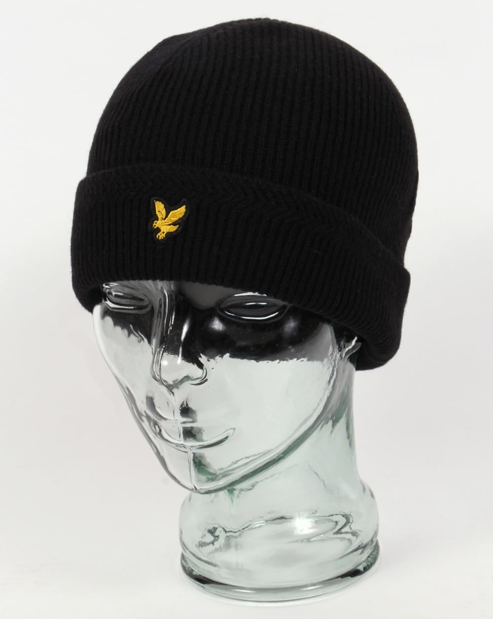 a8d40e3a Lyle And Scott Ribbed Beanie Black,hat,fisherman,mens