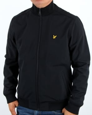Lyle And Scott Soft Shell Jacket Black