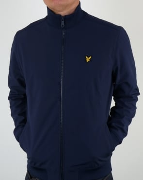 Lyle And Scott Soft Shell Jacket Navy
