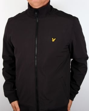 Lyle And Scott Soft Shell Jacket True Black