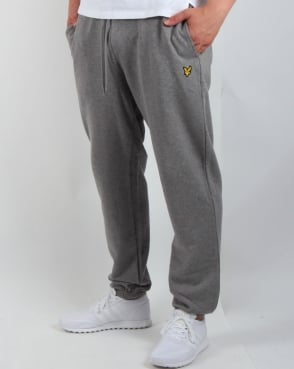 Lyle And Scott Sweat Pants Mid Grey Marl