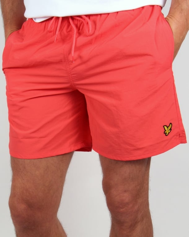 Lyle And Scott Swim Shorts Cinnabar Red