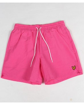 Lyle And Scott Swim Shorts Hot Pink
