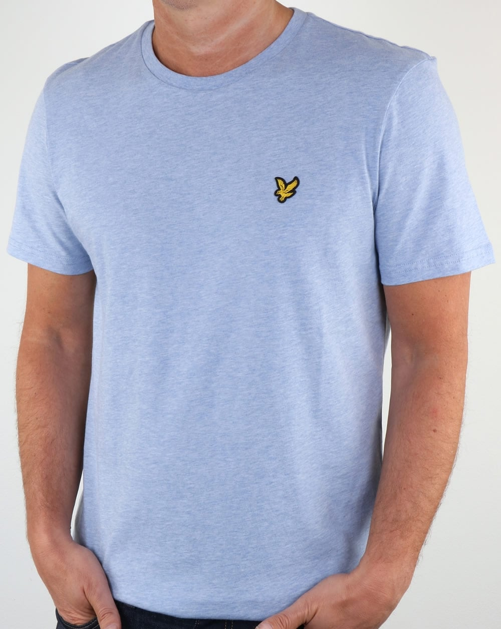 Lyle And Scott T Shirt Blue Marl Lyle And Scott From 80s