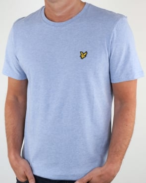 Lyle And Scott T-shirt Blue Marl