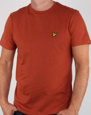 Lyle And Scott T-shirt Brown Spice