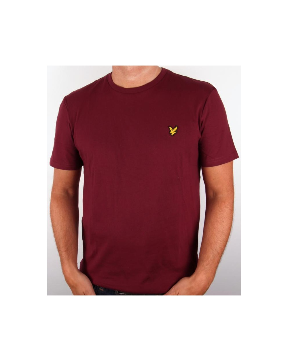 lyle and scott t shirt claret jug lyle scott t shirt. Black Bedroom Furniture Sets. Home Design Ideas