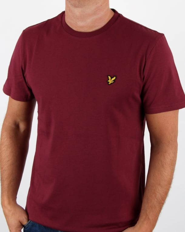 Lyle And Scott T-shirt Claret Jug