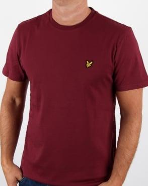Lyle And Scott T-shirt Claret Jug
