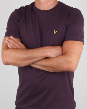 Lyle And Scott T-shirt Deep Plum
