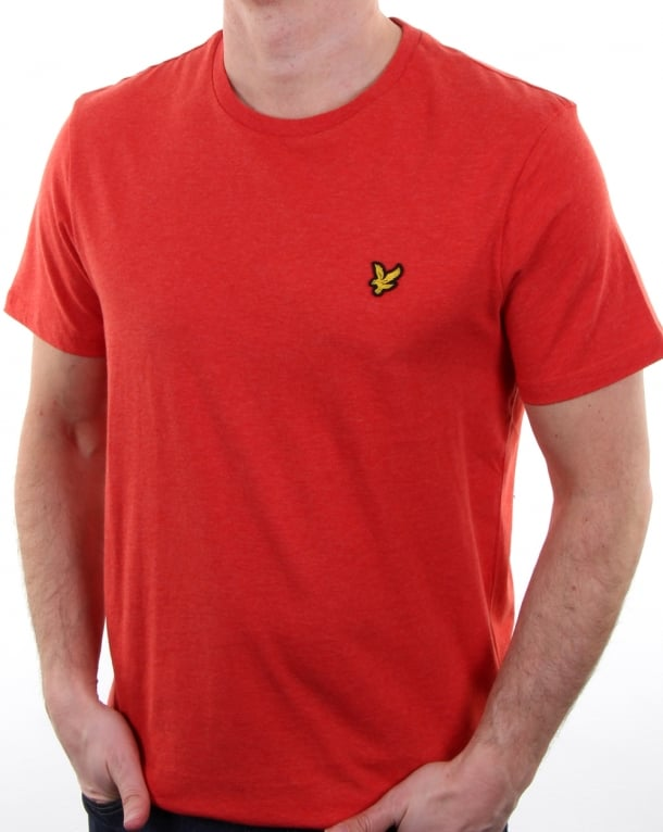 Lyle and Scott T-shirt Flame Red