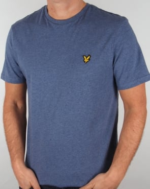 Lyle And Scott T-shirt Indigo Marl