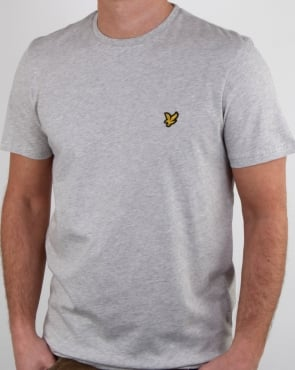 Lyle And Scott T-shirt Light Grey Marl