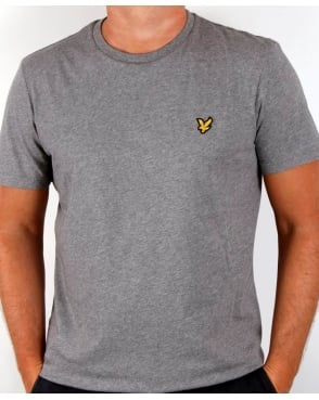 Lyle And Scott T-shirt Mid Grey Marl
