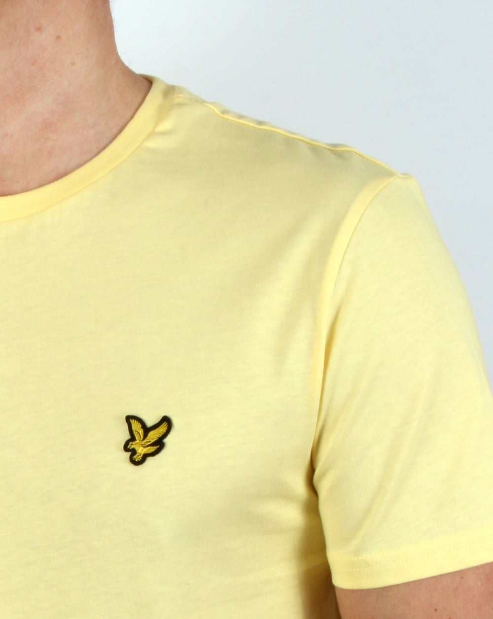 Best Pale Yellow Paints For Kitchen: Lyle And Scott T-shirt Pale Yellow, Men's, Tee, Top, Crew Neck