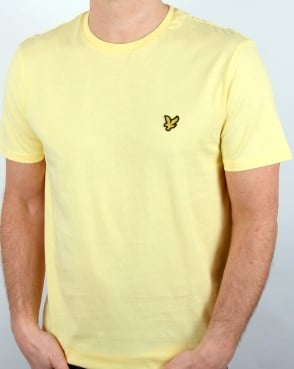 Lyle And Scott T-shirt Pale Yellow