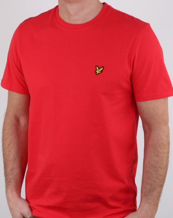 Lyle and Scott T-shirt Poppy