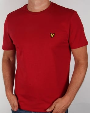 Lyle And Scott T-shirt Ruby Red