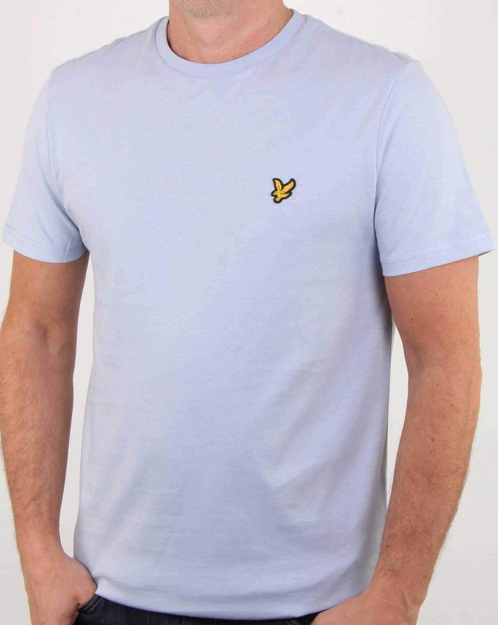 e0c3e017 Lyle And Scott T-shirt Stonewash Blue, Mens, Tee, Cotton, Crew Neck