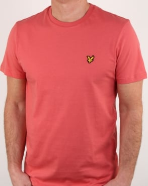 Lyle And Scott T-shirt Sunset Pink