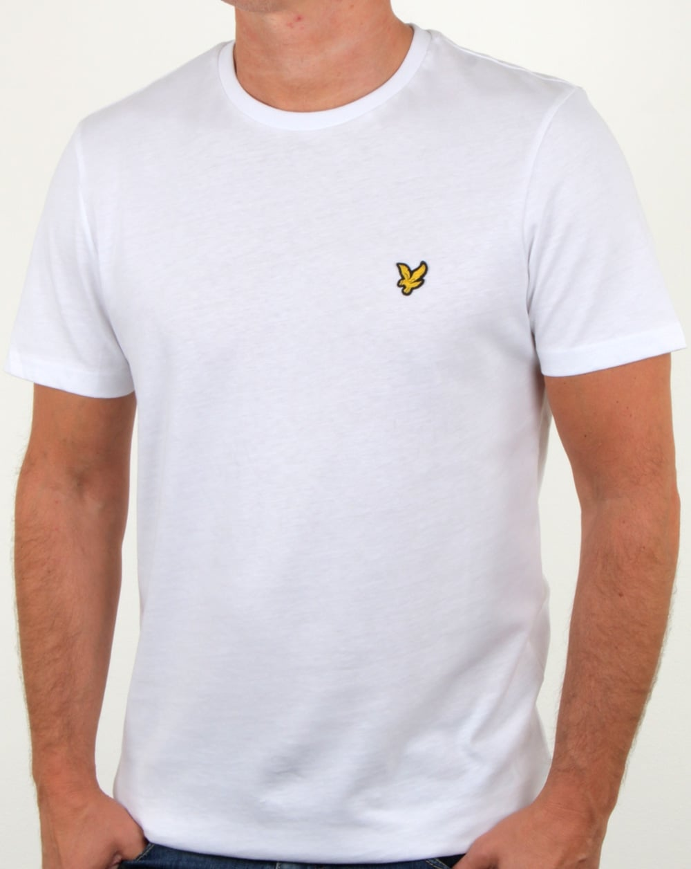 Lyle and scott t shirt white for Lyle and scott shirt sale