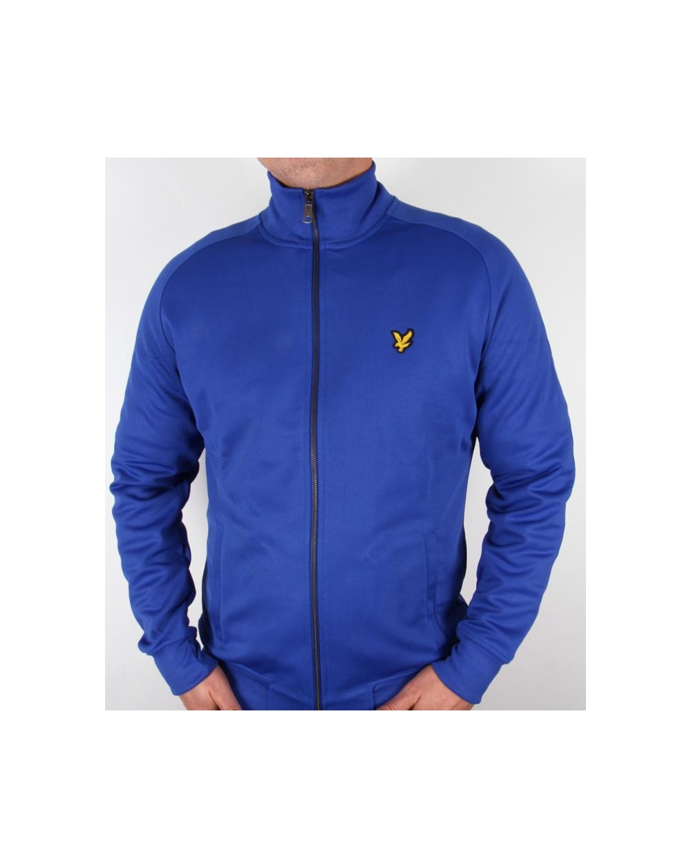 lyle and scott track jacket duke blue lyle and scott tracksuit top. Black Bedroom Furniture Sets. Home Design Ideas