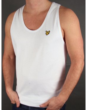 Lyle And Scott Vest White