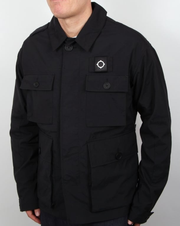 Ma.strum Charioteen Field Jacket Black