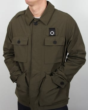Ma.strum Charioteen Field Jacket Dark Olive