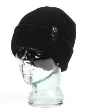 Ma.strum Detachable Id Beanie Jet Black