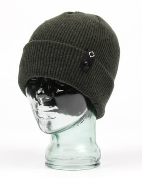 Ma.strum Detachable Id Beanie Military Green