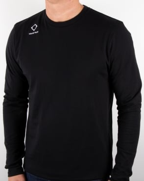 Ma.strum Emblem Long Sleeve T Shirt Black