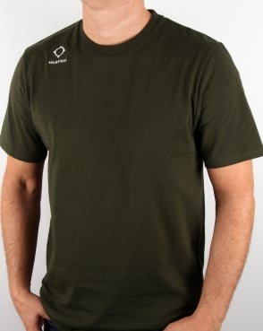 Ma.strum Emblem T Shirt Dark Khaki