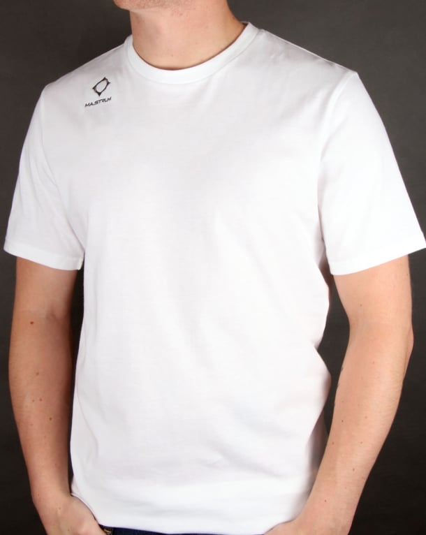 Ma.strum Emblem T Shirt White