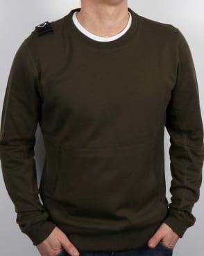 Ma.strum Hobart Sweatshirt Dark Olive