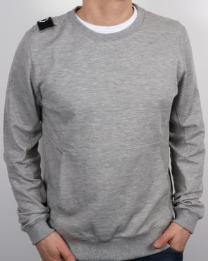 Ma.strum Hobart Sweatshirt Grey Marl
