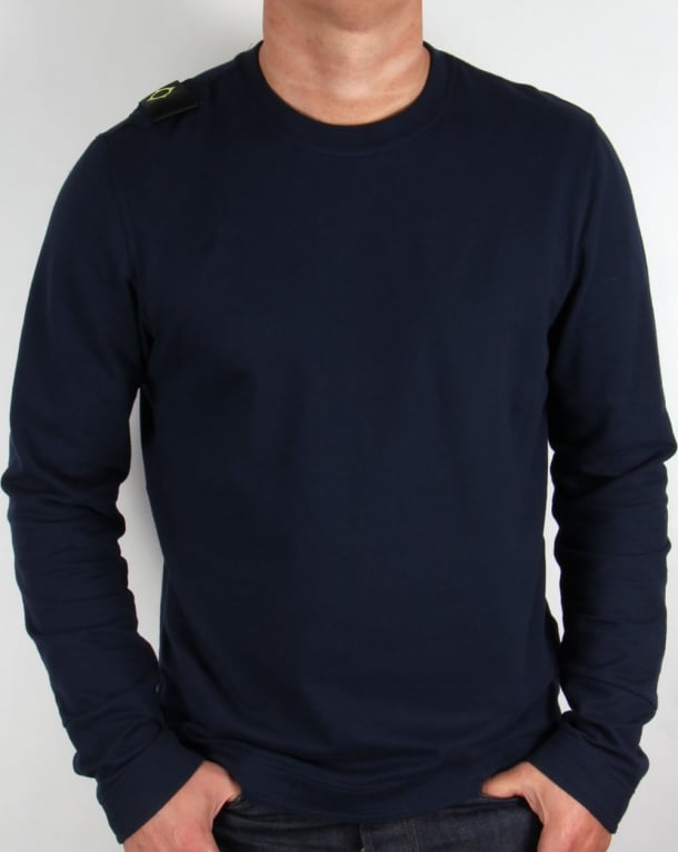 Ma.strum Jersey Sweatshirt Navy