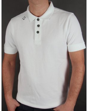 Ma.strum Kit Issue S/s Pique Polo Shirt White
