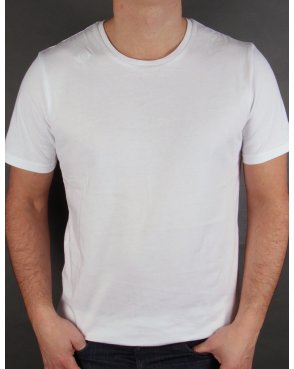 Ma.strum Kit Issue Short Sleeve Crew Neck T-shirt White